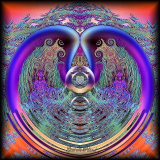 Process spiritual evolutionary journey into higher consciousness